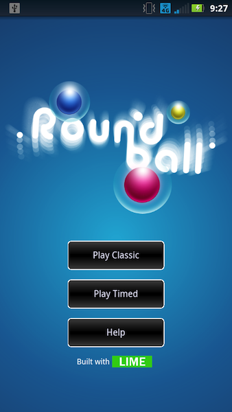 Roundball on Android