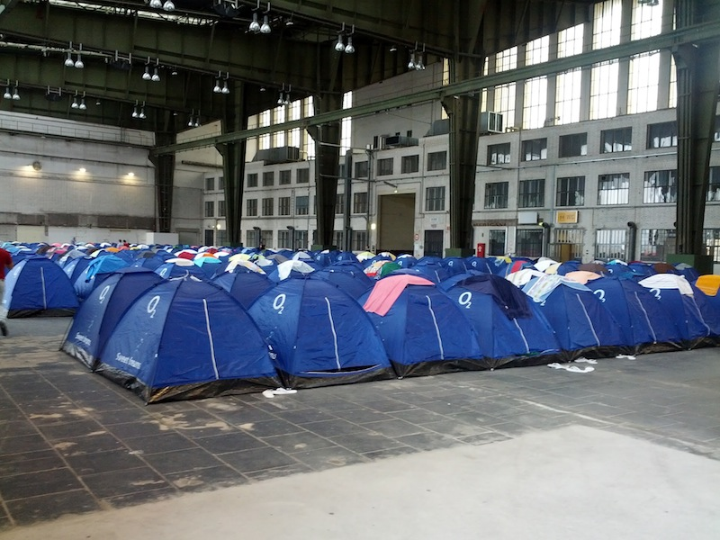 Campus Party Tents